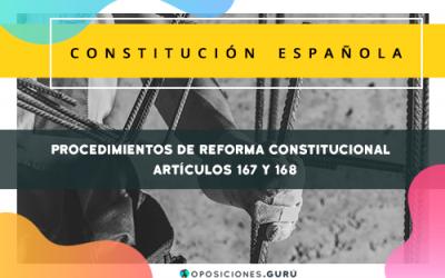 Procedimientos de reforma constitucional (CE)