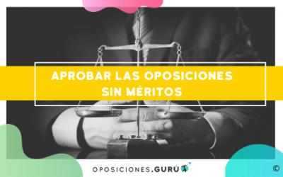 Descubre cómo aprobar sin méritos las oposiciones a Justicia