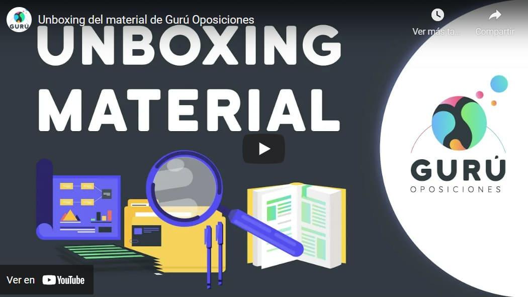 unboxing-materiales-oposiciones-guru