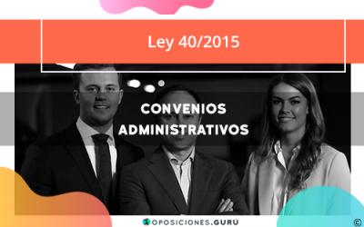 Convenios Administrativos