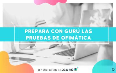 Ya disponibles en Gurú los cursos de ofimática para preparar las pruebas de la AGE