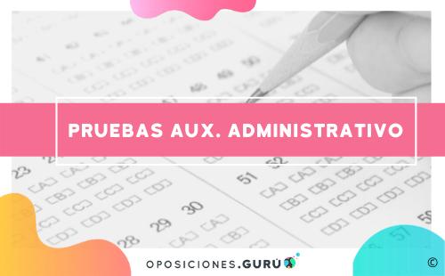 examen-oposiciones-auxiliar-administrativo