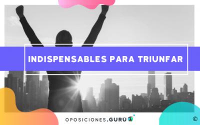 Los 6 imprescindibles para prepararte una oposición